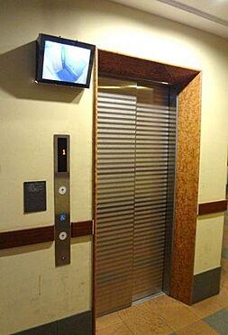 マンション(建物一部)-大阪市港区市岡1丁目 防犯モニター搭載のエレベーター