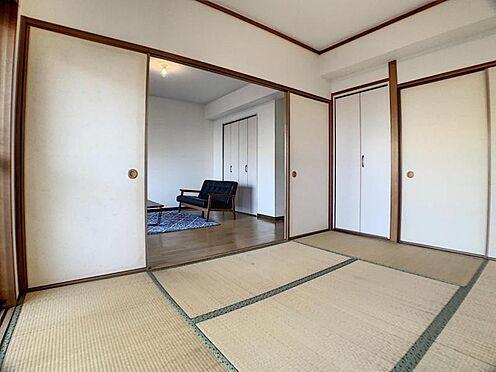 区分マンション-名古屋市南区豊2丁目 あると便利な和室はお昼寝や来客スペースとしても大活躍!