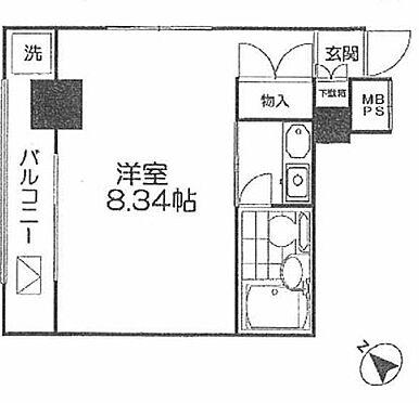 マンション(建物一部)-台東区下谷3丁目 間取り