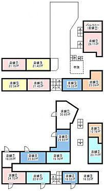店舗事務所(建物全部)-土浦市桜町3丁目 間取り