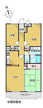 区分マンション-久喜市久喜東6丁目 間取り