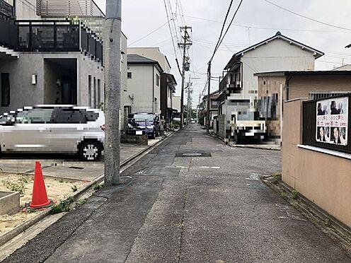 土地-名古屋市北区光音寺町字野方 周辺交通量は少なめで安心。