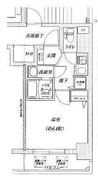 マンション(建物一部)-大阪市福島区大開2丁目 間取り
