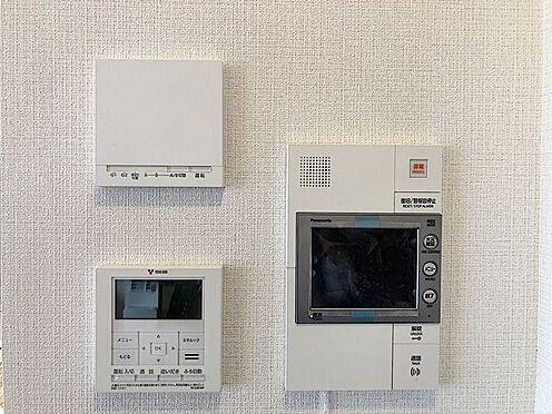 中古マンション-名古屋市緑区鳴子町2丁目 TVモニター付きインターホン、給湯パネル、床暖房リモコン。