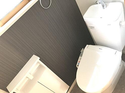 新築一戸建て-箕面市半町4丁目 トイレ