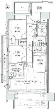区分マンション-東海市高横須賀町御洲浜 1フロア2邸!共用廊下部分が見えない為、プライバシー性の高い造りとなっております。