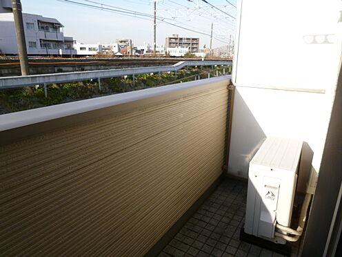 アパート-横浜市神奈川区入江1丁目 晴れた日は気持ちのいいバルコニー