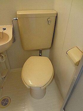 アパート-横浜市神奈川区白幡仲町 トイレ