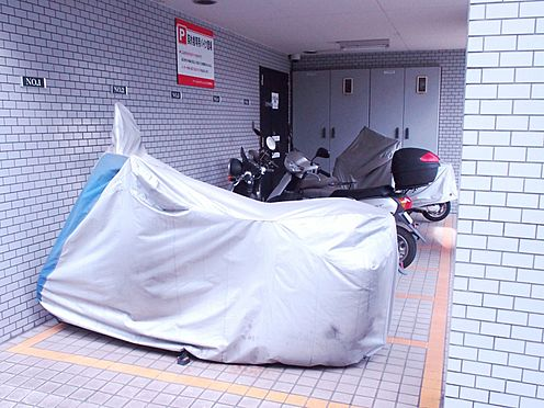 中古マンション-横浜市港北区箕輪町3丁目 バイク置き場