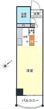 マンション(建物一部)-神戸市中央区布引町2丁目 広々バルコニー付き