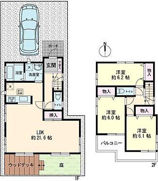 中古一戸建て-江戸川区東葛西3丁目 4LDKにも仕様変更可能(別途費用がかかります。)