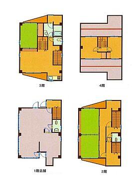 店舗付住宅(建物全部)-千葉市中央区登戸1丁目 間取り