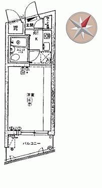 区分マンション-川崎市高津区明津 間取り