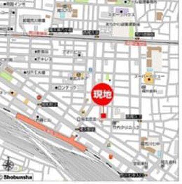 店舗事務所(建物一部)-荒川区西尾久7丁目 地図