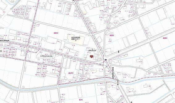 店舗付住宅(建物全部)-藤枝市緑町2丁目 地図