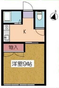 アパート-滝沢市穴口 間取り