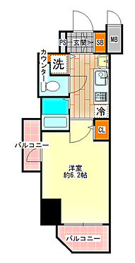 区分マンション-大阪市中央区島之内1丁目 図面より現況を優先します。