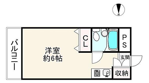 中古マンション-大阪市生野区林寺2丁目 間取り
