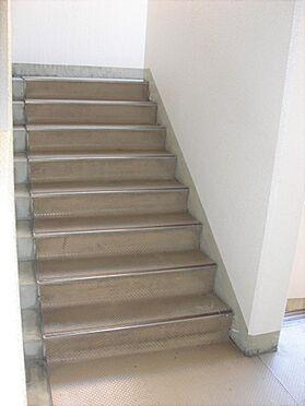 マンション(建物一部)-横浜市鶴見区岸谷3丁目 階段です。