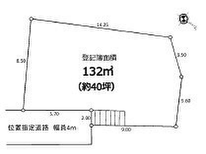 土地-朝霞市根岸台3丁目 区画図