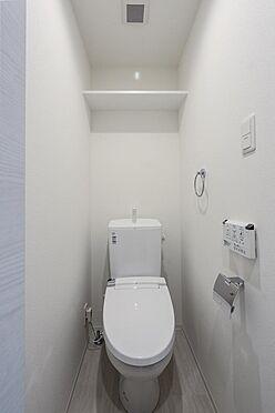 マンション(建物全部)-目黒区柿の木坂2丁目 トイレ