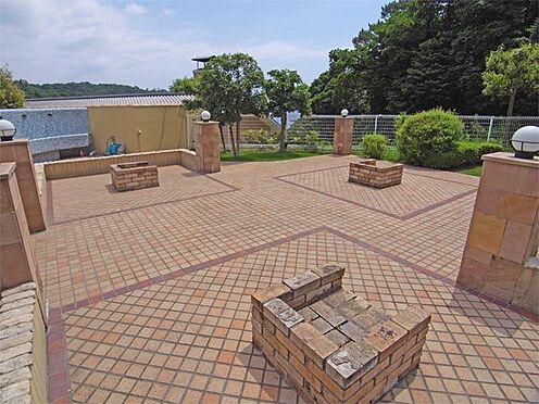 中古マンション-伊東市八幡野 バーベキューコーナーです。