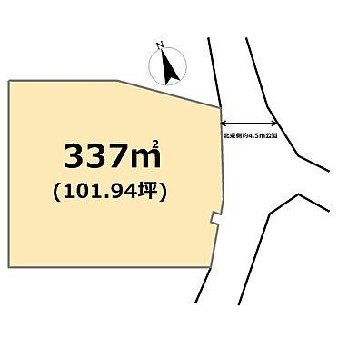 土地-東松山市大字岡 区画図