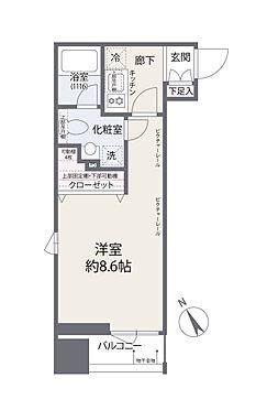 中古マンション-港区三田4丁目 間取り図