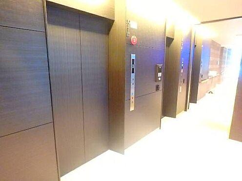 区分マンション-宇都宮市馬場通り3丁目 ■ エレベーター ■エレベーターは2機備わっており、フロアに到着するまでの待ち時間がより短かくなりますね。※写真は空室時のものです