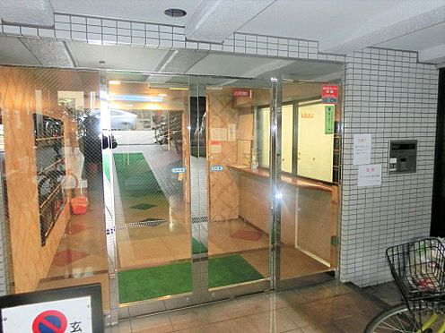 マンション(建物一部)-台東区入谷1丁目 入口です。