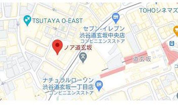 事務所(建物一部)-渋谷区道玄坂2丁目 地図