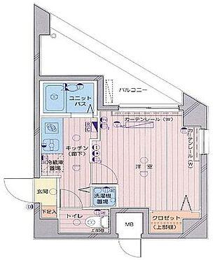 区分マンション-大田区北千束2丁目 間取り
