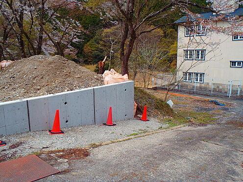 土地-京都市左京区八瀬秋元町 前面道路含む現地2020年