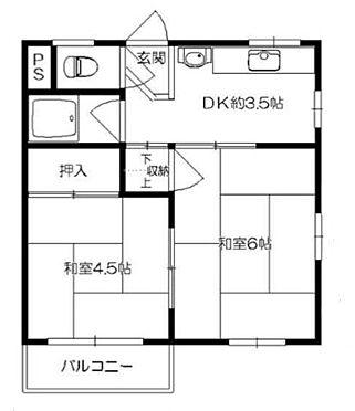 マンション(建物一部)-大阪市鶴見区今津中5丁目 間取り