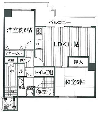 マンション(建物一部)-京都市上京区飛鳥井町 間取り