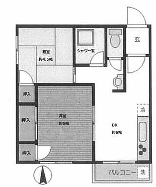 マンション(建物一部)-墨田区吾妻橋3丁目 間取り