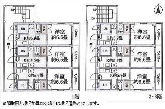 マンション(建物全部)-練馬区氷川台2丁目 間取り