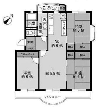 中古マンション-志木市館1丁目 間取り