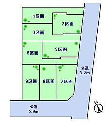 世田谷区八幡山3丁目 宅地分譲 5区画