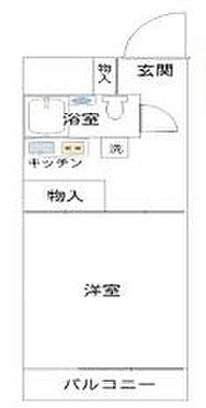 マンション(建物一部)-渋谷区円山町 間取り