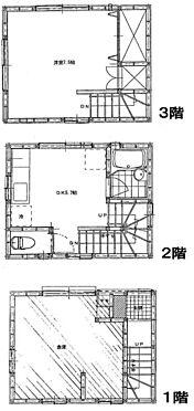 店舗付住宅(建物全部)-横須賀市安浦町3丁目 間取り