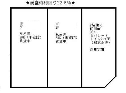 アパート-大阪市此花区伝法4丁目 間取り
