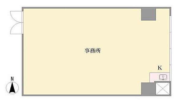 事務所(建物一部)-川崎市中原区丸子通1丁目 間取り