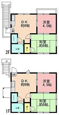 アパート-横浜市保土ケ谷区鎌谷町 間取り