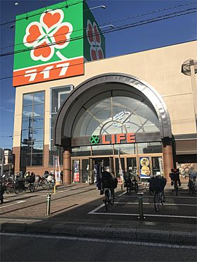 土地-新座市野寺4丁目 ライフ新座店(1144m)