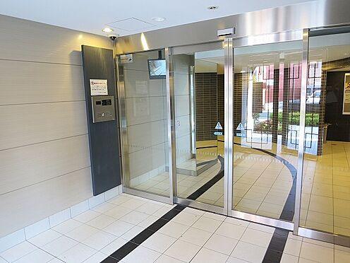 マンション(建物一部)-大阪市都島区東野田町5丁目 セキュリティ性の高いエントランス