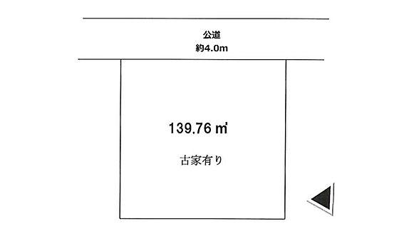 土地-八王子市横川町 区画図