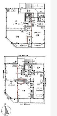 アパート-戸田市大字新曽 間取り