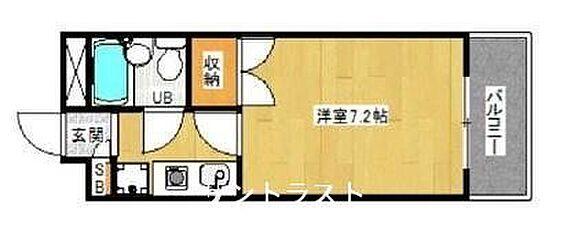 マンション(建物一部)-京都市上京区般舟院前町 間取り