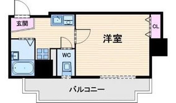 マンション(建物一部)-大阪市中央区上町1丁目 2点セパレートで清潔感あり。ひとり暮らしに使い勝手の良い間取りです。